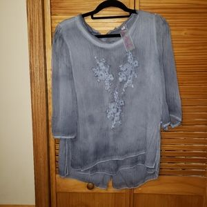 Pretty Angel Boho Semi Sheer Large Top